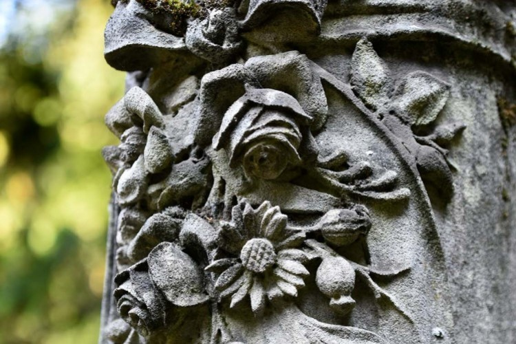 Jüdischer Friedhof, Detailaufnahme (© ttm)