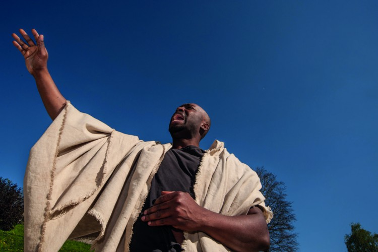 Isaac Boateng als Gladiator Valerius