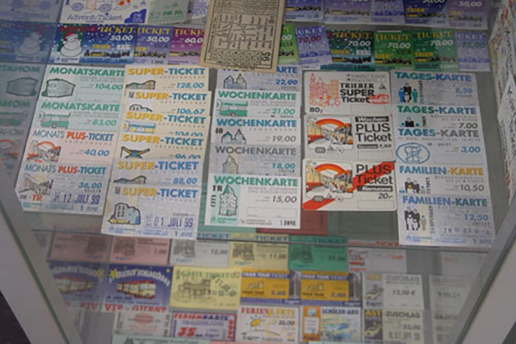Fahrkarten und Tickets (© Verkehrsmuseum)
