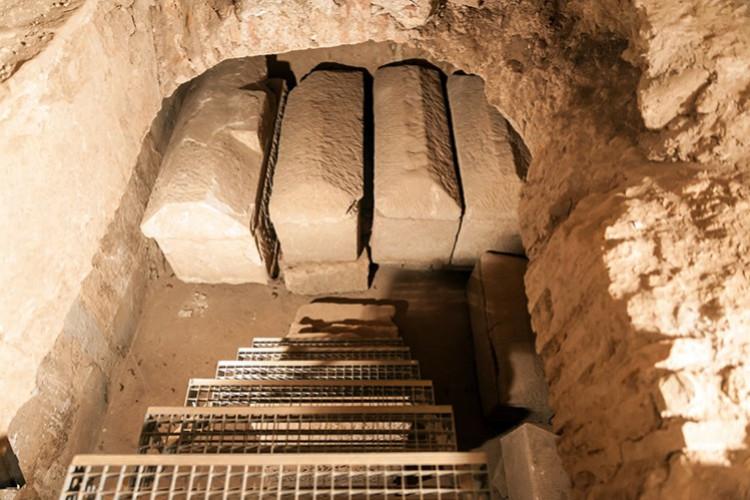 Ausgrabungen unter St. Maximin (© Ernst Mettlach)