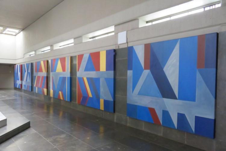 Hajek, Ausschnitt Korridor (© Carmen Müller)