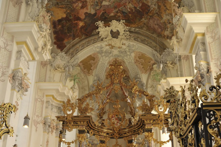 St. Paulin, Altarraum
