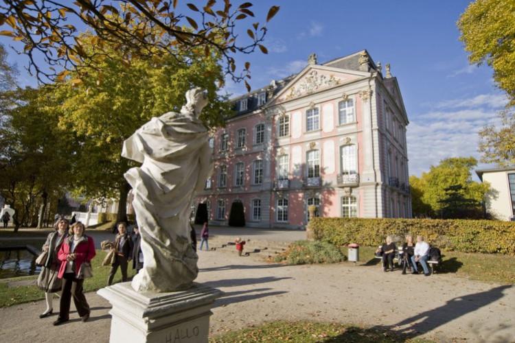 Palastgarten mit Blick auf das Kurfürstliche Palais