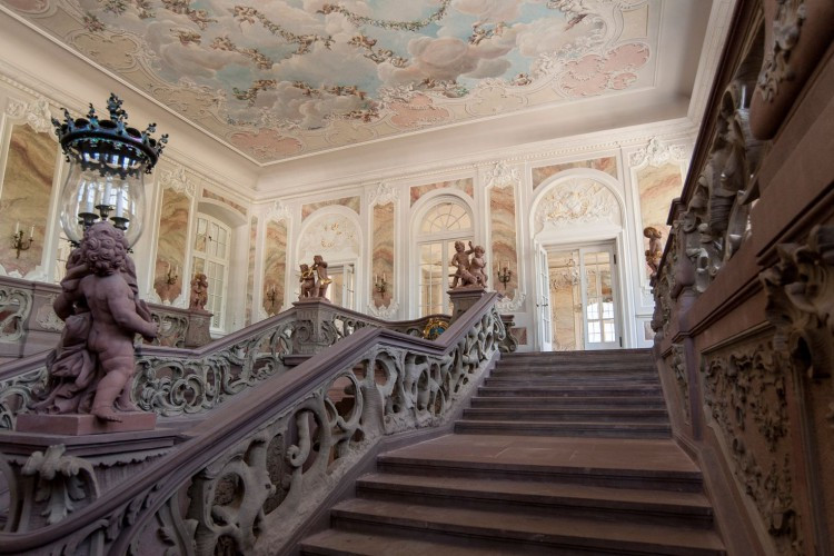 Stairwell inside the Electoral Palace
