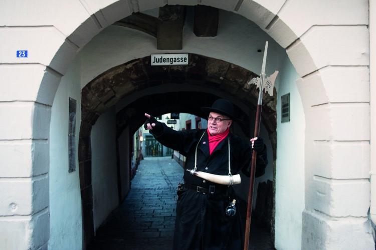 Night Watchman Tour through the Jew's Alley