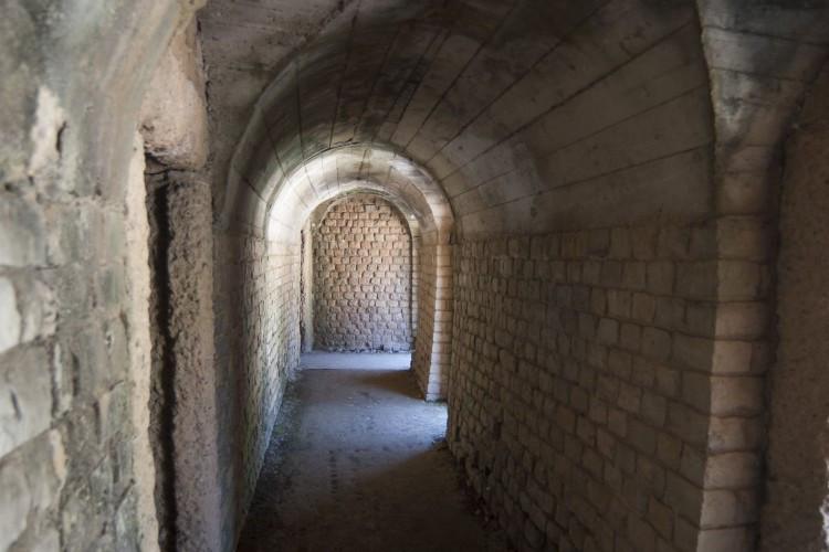 Subterranean Corridors of the Amphitheatre (© Walter Baumeister)