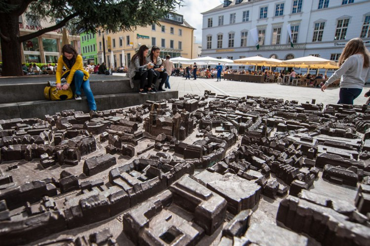 Model of the Old Town at the Kornmarkt