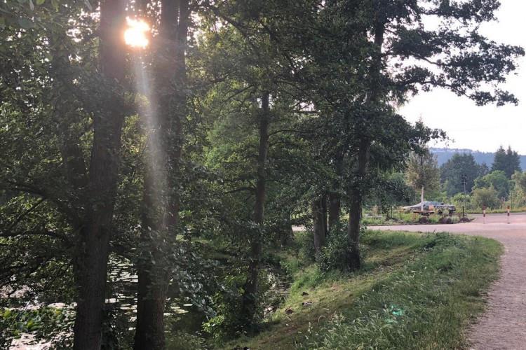 Evening at St Matthew's Lake (Mattheiser Weiher)