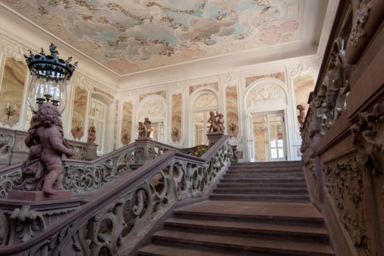 Treppenhaus des Kurfürstlichen Palais