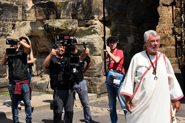 Shooting in front of the Porta Nigra