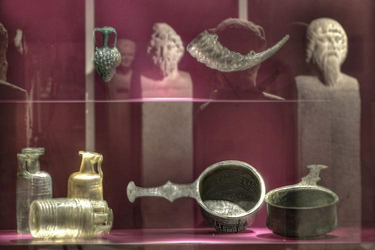 Exhibits in the Rheinisches Landesmuseum Trier