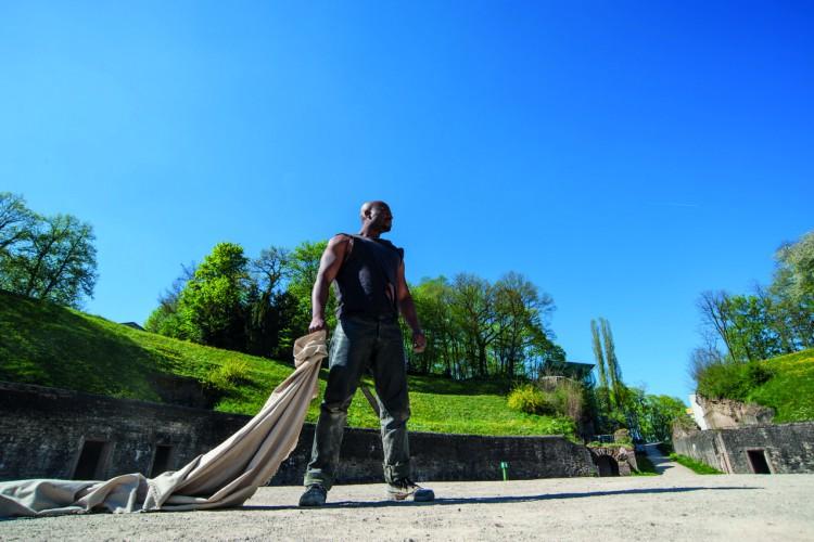 Gladiator Valerius in action