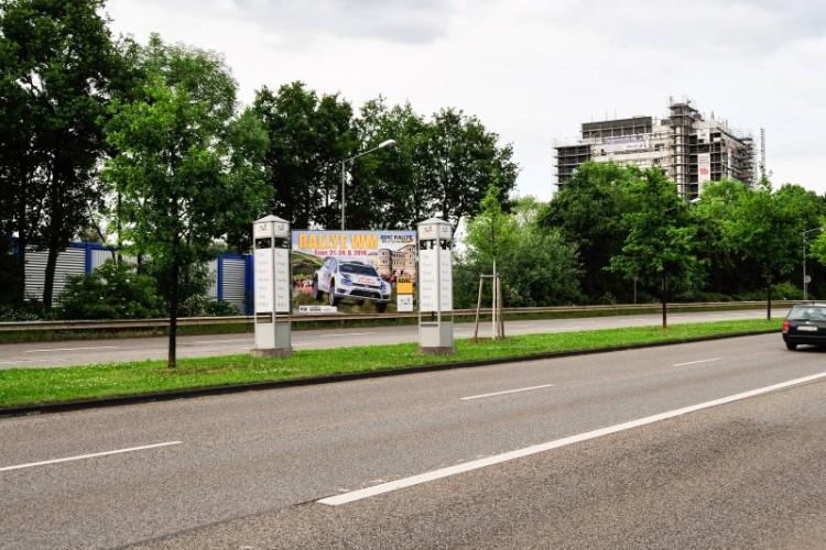 Mittelstreifen Zurmaiener Straße