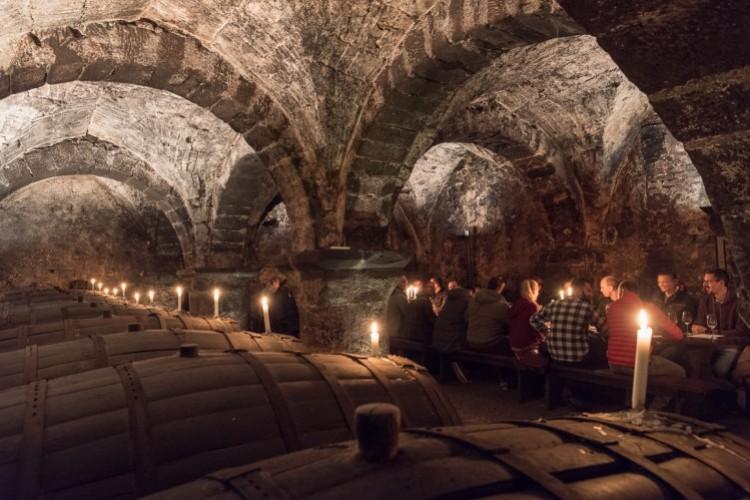 Entdeckerführung im ältesten Weinkeller Deutschlands