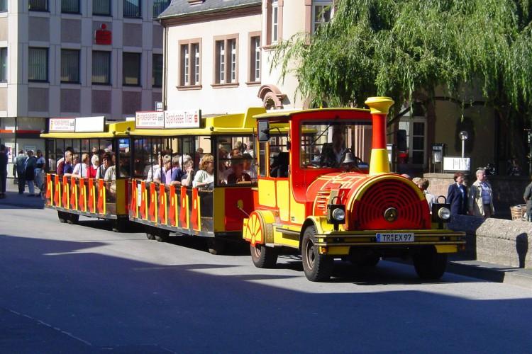 Rundfahrt mit dem Römer-Express