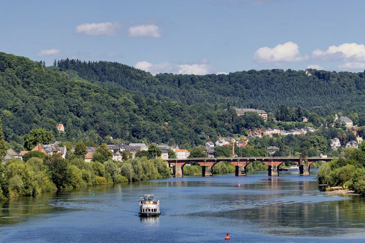 Roman Bridge and Moselle - © Michael Scholer