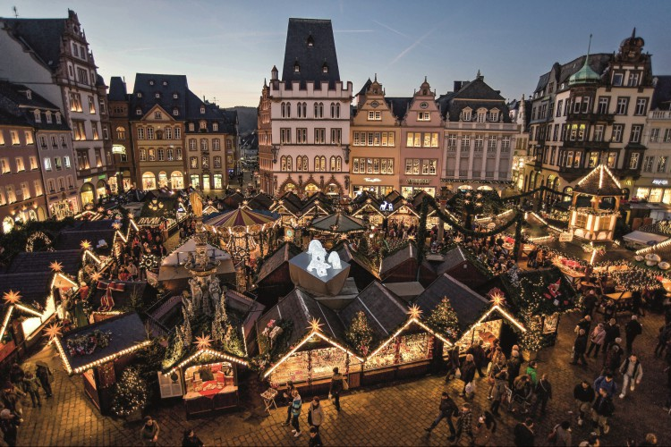 Travelling as a group: Trier Christmas market 2021
