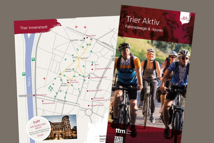 Active brochure bicycle