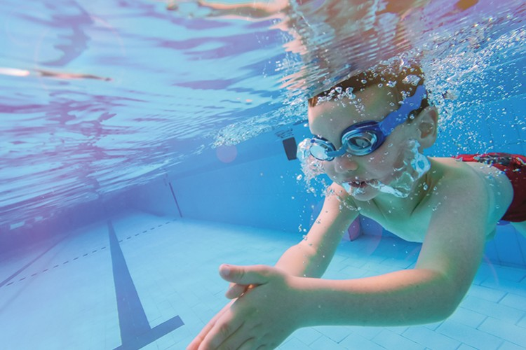 Swimming Boy - © Michael Brin /shutterstock.com