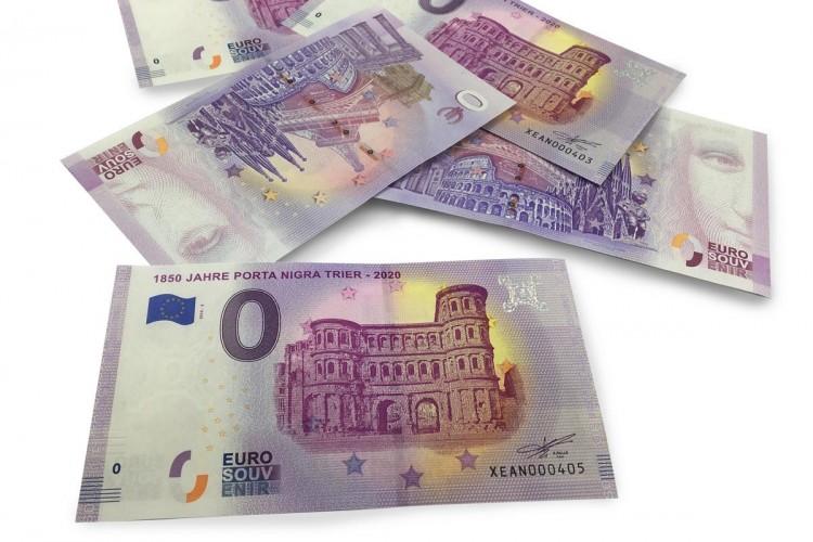 Porta Nigra 0-Euro-bank note