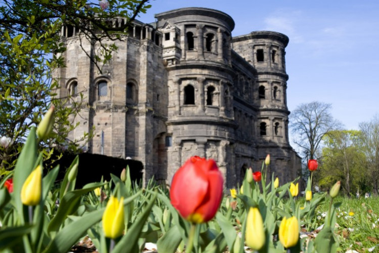 Trier im Frühling
