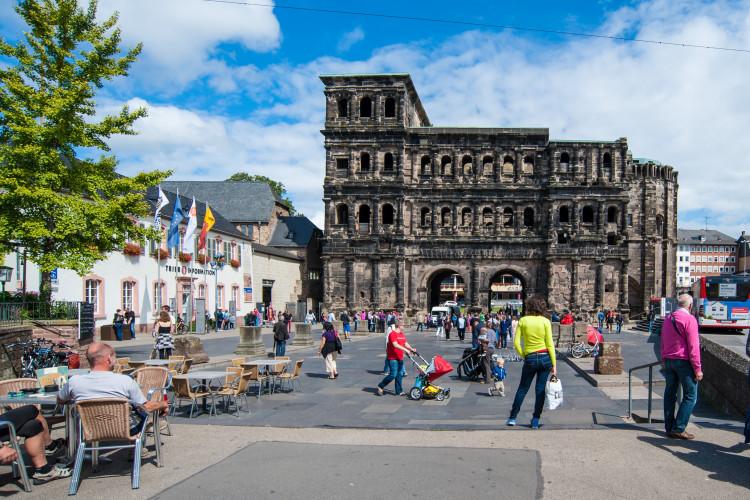 Trier im Sommer