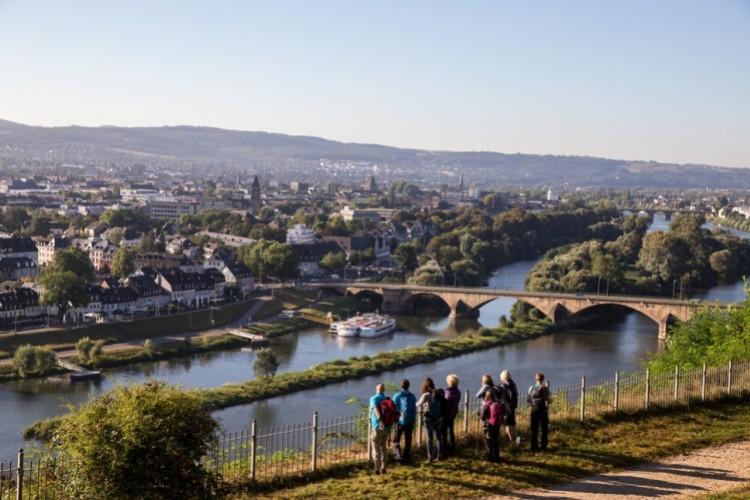 Blick auf Trier vom Weißhauswald - © Melanie Reuß