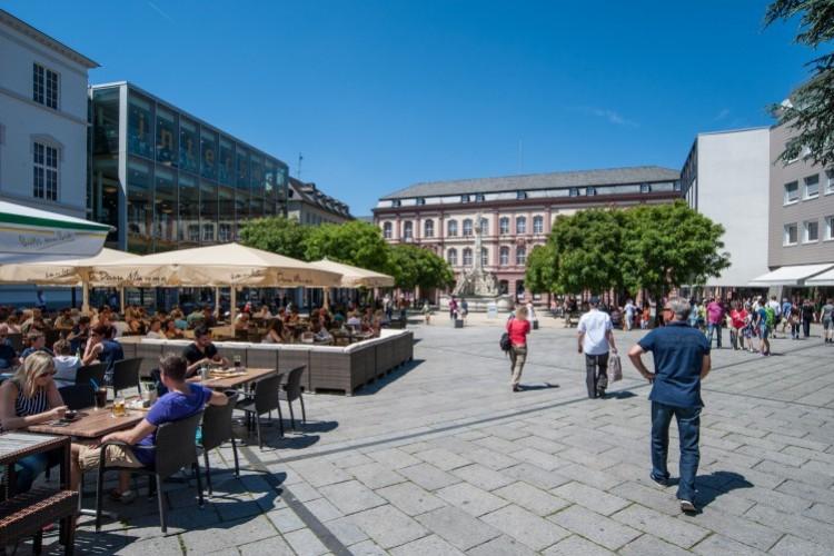 Le 'Kornmarkt' (Marché aux grains)