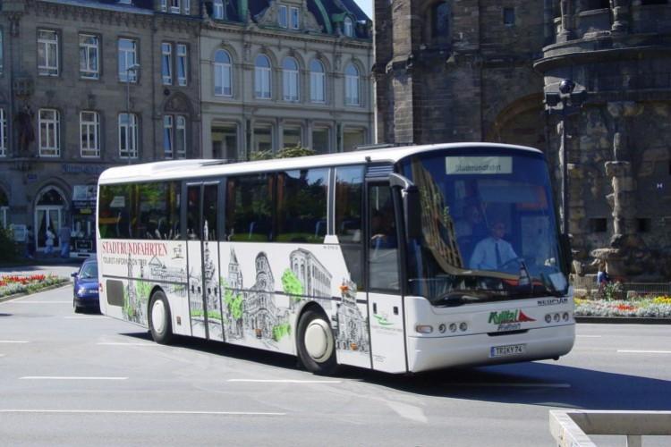 Circuit de la ville en bus