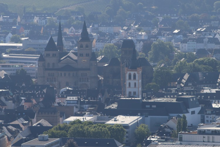 Blick auf den Trierer Dom