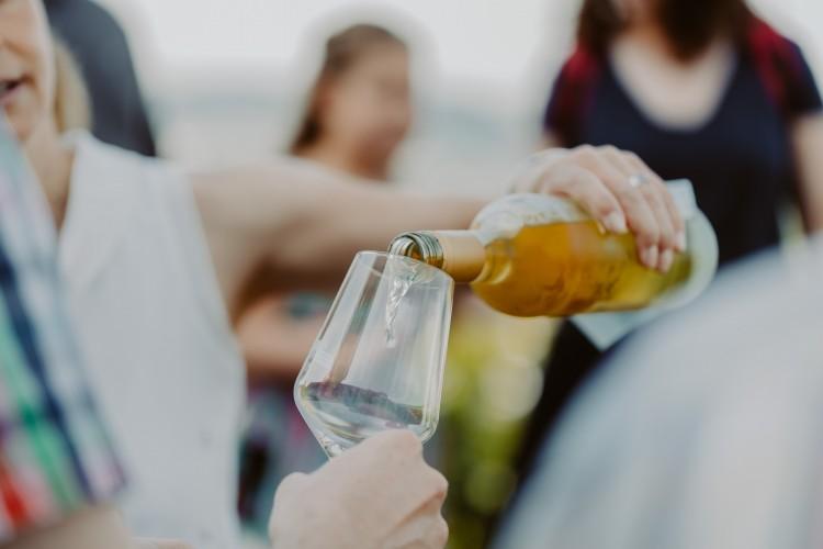 Wein-Genuss-Tour mit dem Doppeldecker