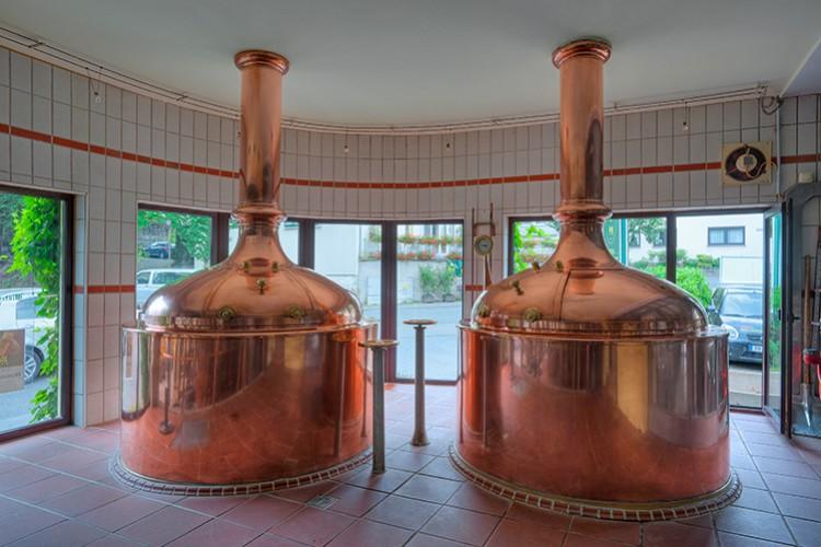 Chaudière à Bière - © Brauhaus Kraft Bräu