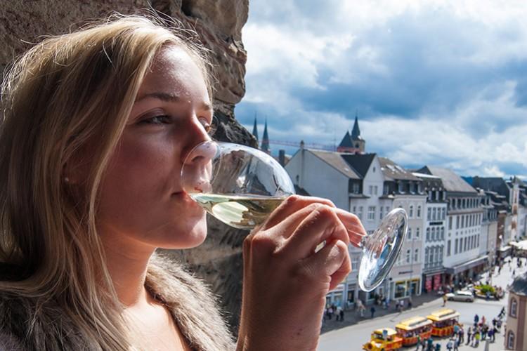 Weingenuss in Trier
