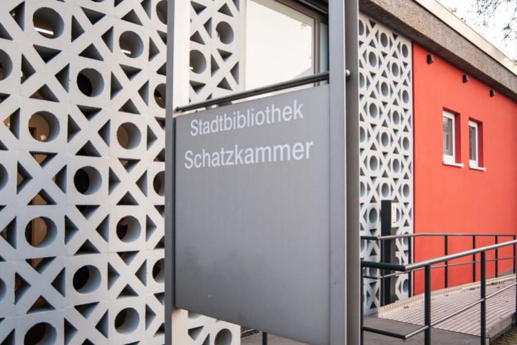 Stadtbibliothek Fassade