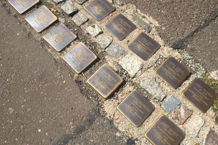Stolpersteine in Trier