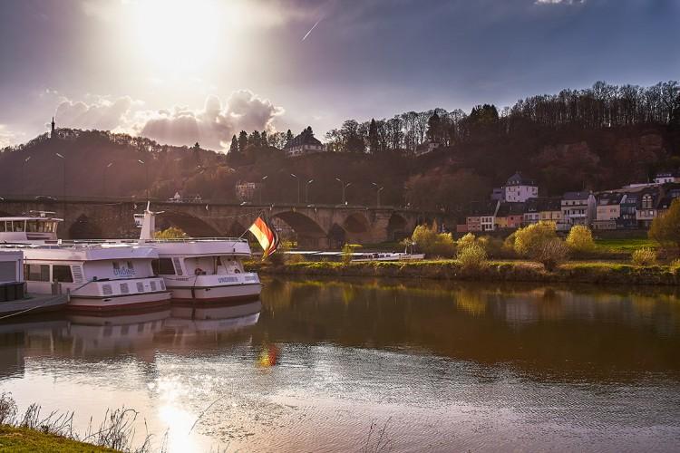 Moselschifffahrt, Anleger Zurlauben - © Marcel Fuchs