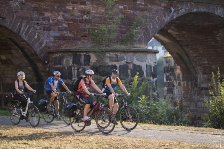 Fahrradtour an der Mosel (© Melanie Reuß)