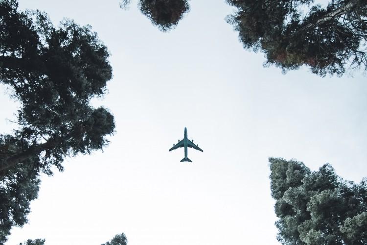 Flugzeug (© Sam Willis/pexels.com)