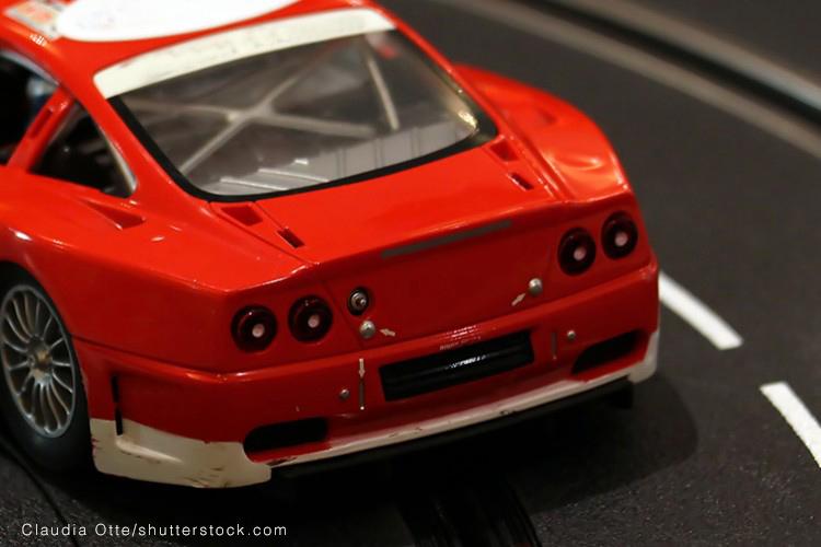 Renn-Center für Modellautos - © Claudia Otte/shutterstock.com