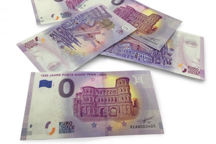 0-Euro-Schein der Porta Nigra