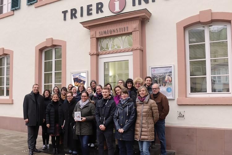Team der Trier Tourismus und Marketing GmbH