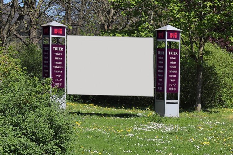 Werben auf den Infoflächen (nur für Kulturveranstaltungen)