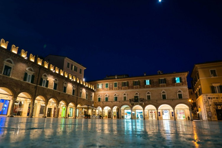 Ascoli Piceno, Italien
