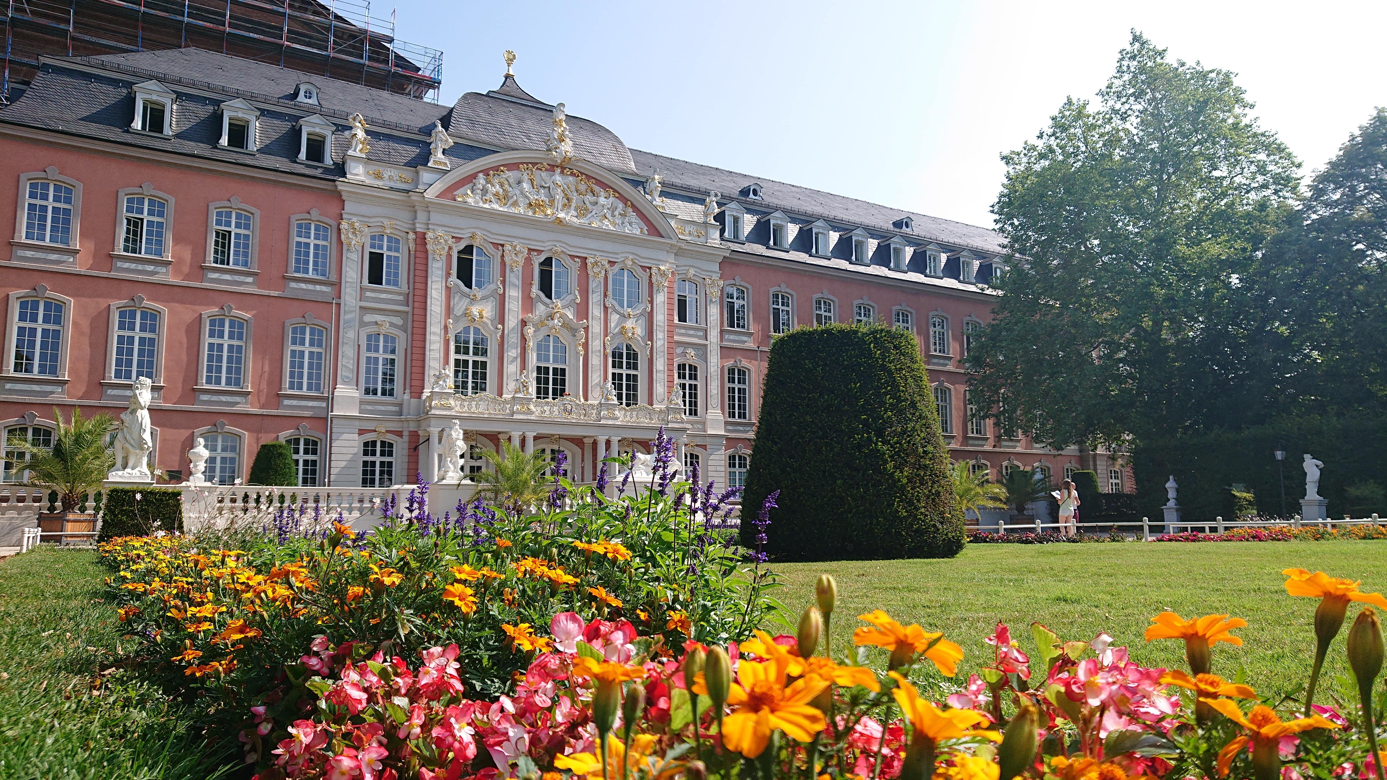 Kurfürstliches Palais im Sommer