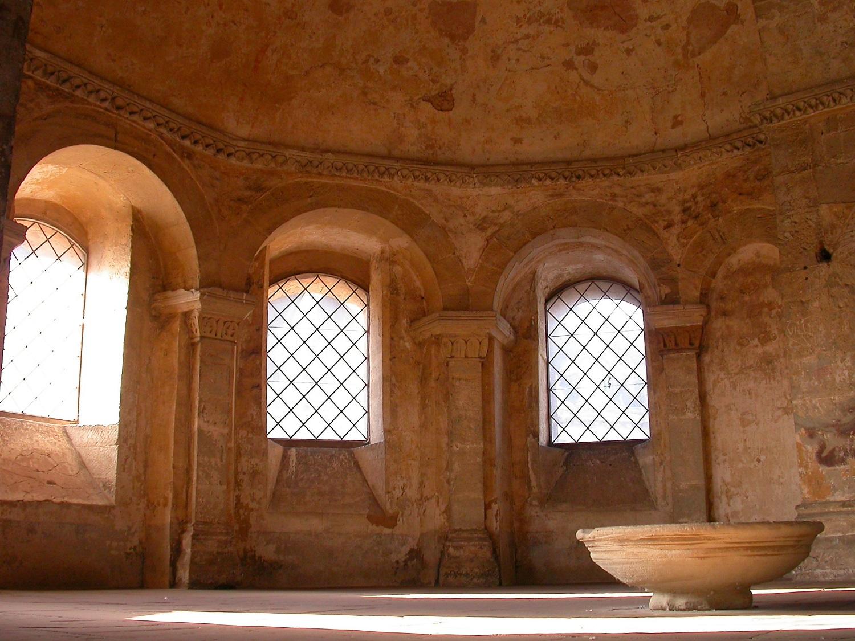 Porta Nigra - Apsis Innen
