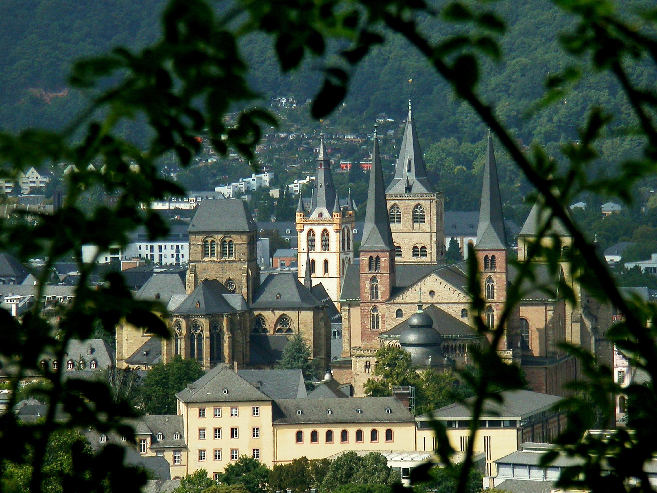 Panorama - Trierer Dom, Liebfrauen, St. Gangolf