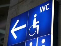 disabled toilette