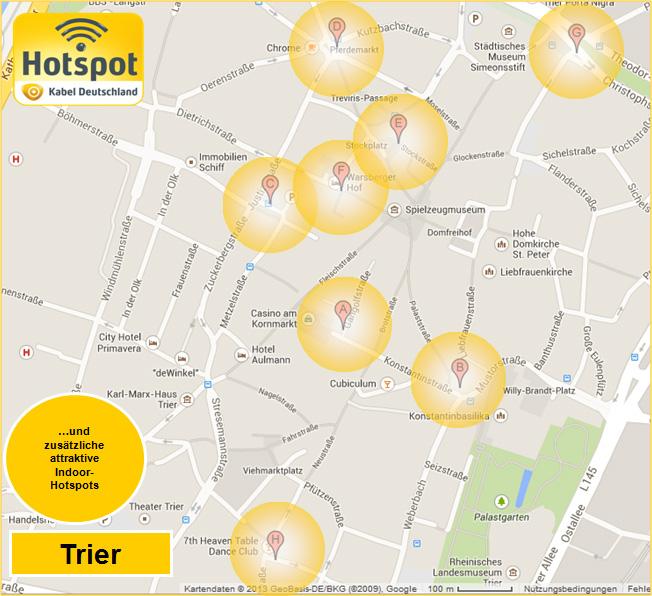 TouristInformation Trier Social Media Friends - Germany map trier