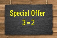 Special Offer 3=2