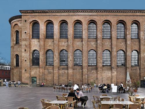 2019 Express Van >> Tourist-Information Trier: Roman Imperial Throne Room (Konstantin-Basilika): Info